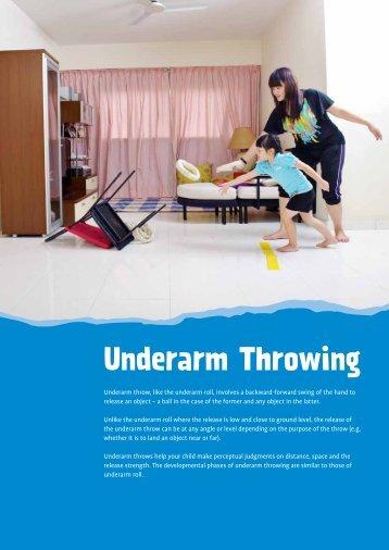Underarm Throwing - Sport On! Kids