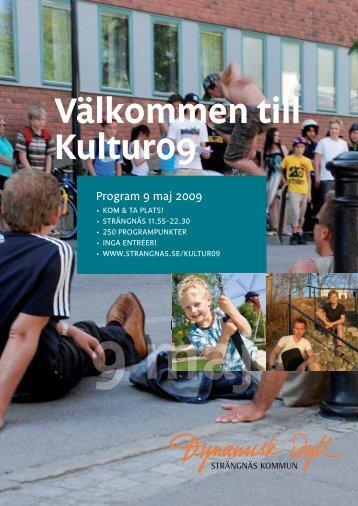 Välkommen till Kultur09 Välkommen till Kultur09 - Bokförlaget Axplock