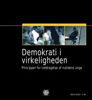 Demokrati i virkeligheden - Dansk Ungdoms Fællesråd