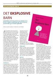 Det eksplosive barn (side 28-29) - Frie Børnehaver og Fritidshjem