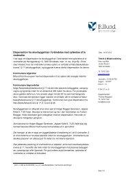 Dispensation fra skovbyggelinje på ... - Billund Kommune