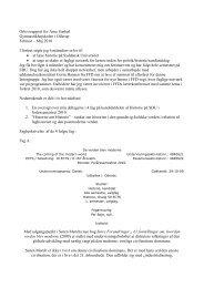 Orlovsrapport for Arne Garbøl