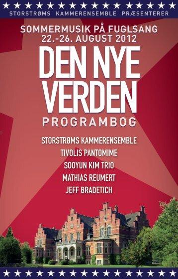 PROGRAMbOG - Storstrøms Kammerensemble