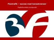 Flextrafik – succes med konsekvenser