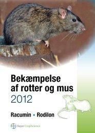 Bekæmpelse af rotter og mus - Bayer