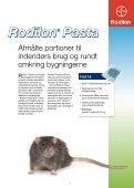Bekæmpelse af rotter og mus - Bayer - Page 7