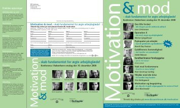 Motivation & mod - IBC Euroforum
