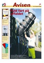 Fuld fart på affaldet - 3F Kastrup