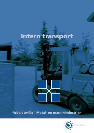 Intern transport - Industriens Branchearbejdsmiljøråd