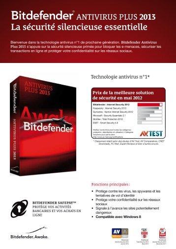 La sécurité silencieuse essentielle - BitDefender