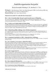 2010.10.26 Referat bestyrelsesmøde - Randersbolig.dk