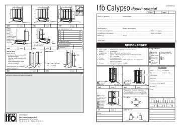 Ifö Calypso