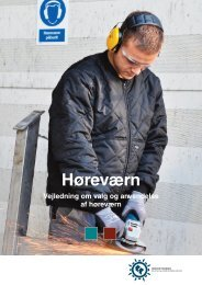 Vejledning om valg og anvendelse af høreværn - Industriens ...
