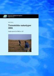 FR557 Terrestriske naturtyper