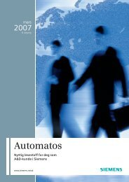 Automatos 1/2007 - Siemens AS