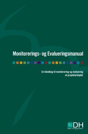 Monitorerings- og Evalueringsmanual - Disability.dk