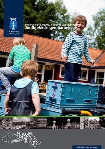 Informasjonsbrosjyre ansatte - Drammen kommune