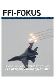 Last ned FFI-FOKUS 02/2011 som pdf - Forsvarets forskningsinstitutt
