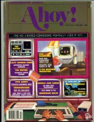 Ahoy! Magazine December 1986 - Commodore Computers