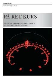 På ret kurs (PDF) - Finansforbundet