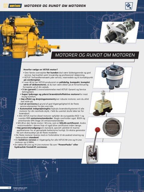 MOTORER OG RUNDT OM MOTOREN - Vetus-Online.com