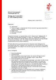 Referat Evalueringsmøde Turneringen 2011/12 Onsdag, den 7 ...