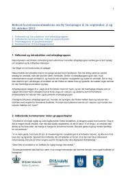 Samlet referat fra Interssentmøderne om Ny ... - Naturstyrelsen