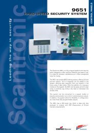 Hard Wired Security System 9651 - Hbssltd.co.uk