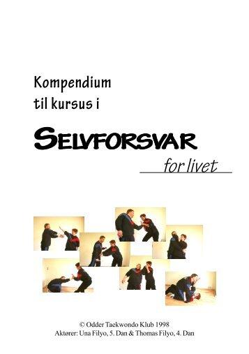 Selvforsvarskompendie - Odder Taekwondo Klub