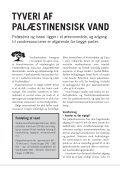 TYVERI AF VAND - Dansk-Palæstinensisk Venskabsforening - Page 2