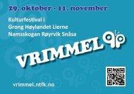 29. oktober - 11. november - Nord-Trøndelag fylkeskommune