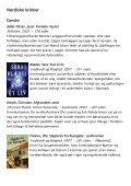 Årets bøger 2007 - krimi og spænding - Vejle Bibliotekerne - Page 4
