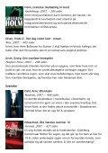 Årets bøger 2007 - krimi og spænding - Vejle Bibliotekerne - Page 5