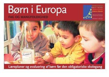 Læreplaner og evaluering af børn før den obligatoriske ... - Bupl
