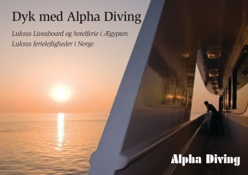 Dyk med Alpha Diving
