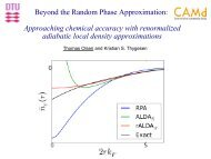 Extending the random phase approximation with renormalized ...