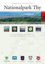Styregruppens rapport til miljøministeren - Nationalparker