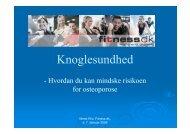 Download præsentation - Mette Riis Kost og Motion