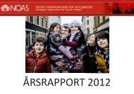 Årsrapport 2012 (PDF) - Norsk Organisasjon for Asylsøkere