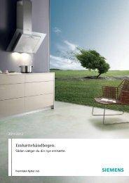 Emhætter - Siemens