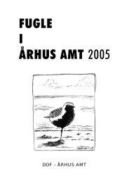 Fugle i Århus Amt 2005 - DOF Østjylland
