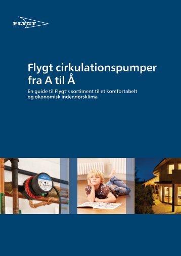 Flygt cirkulationspumper fra A til Å - Water Solutions