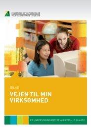 Bilag - Fonden for Entreprenørskab