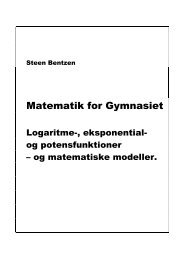 LEPM 1 Forside, Indholdsfortegnelse og forord - Uvmat