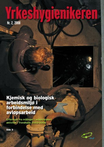Nr. 2, 2008 - Norsk Yrkeshygienisk Forening