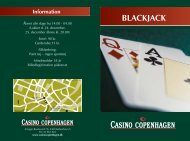Blackjack - Casino Copenhagen