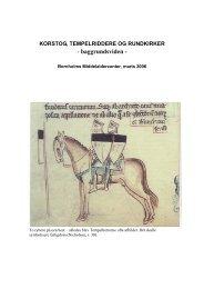 korstog, tempelriddere og rundkirker - Bornholms Middelaldercenter