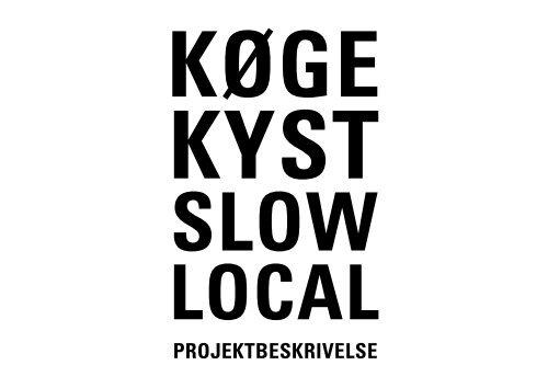 PROJEKTBESKRIVELSE - Køge Kyst