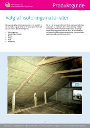 Produktguide - Videncenter for energibesparelser i bygninger