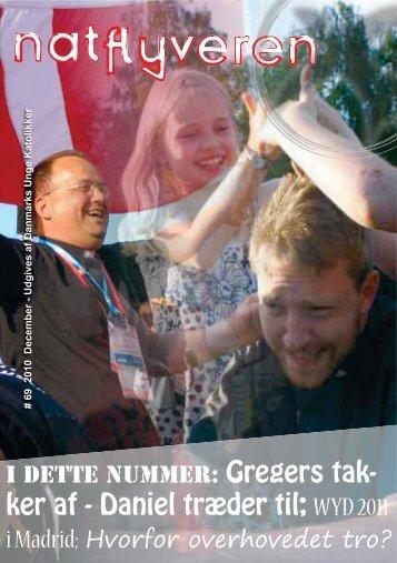 ker af - Daniel træder til; WYD 2011 - Danmarks Unge Katolikker